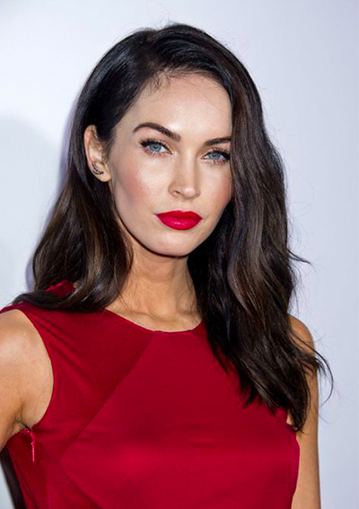 megan-fox-red-lipstick-red-dress