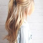 half-up-ponytail-hairstyle