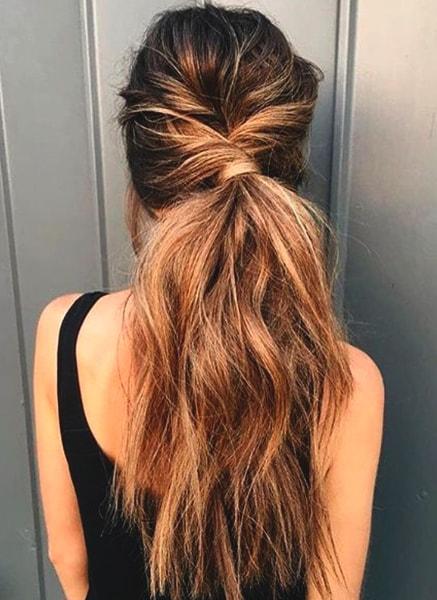 messy-ponytail-styles