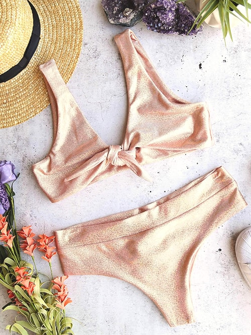 metallic-swimsuit