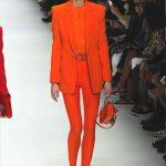 orange-dress-versace