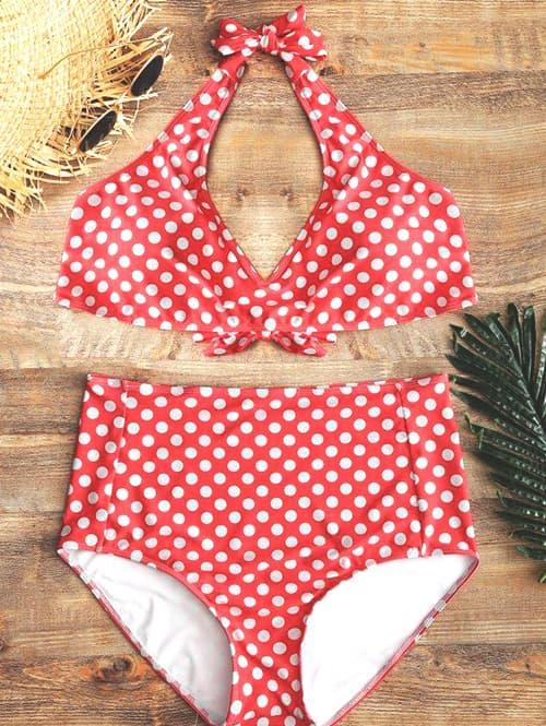 polka-dot-high-waisted-swimsuit