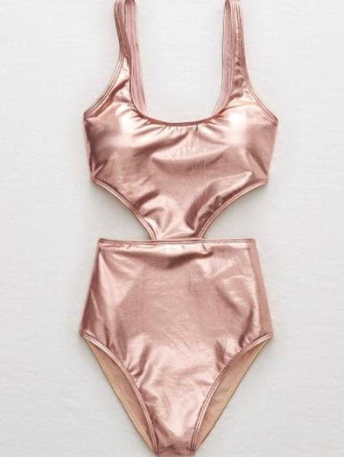 shiny-swimsuit-one-piece