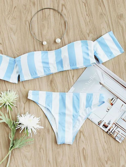 striped-off-the-shoulder-swimsuit