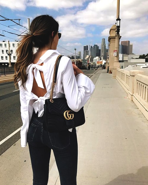 black-gucci-chained-bag