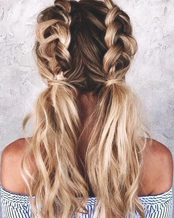 10 Gorgeous Hairstyle Ideas For The Beach | Ecemella