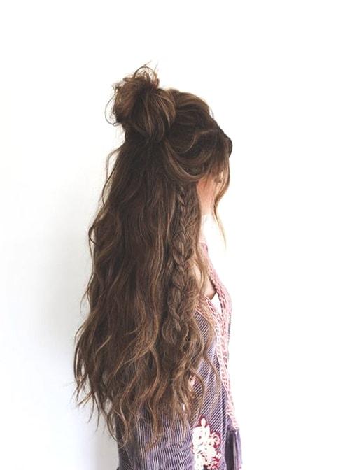 half-up-boho-hairstyle