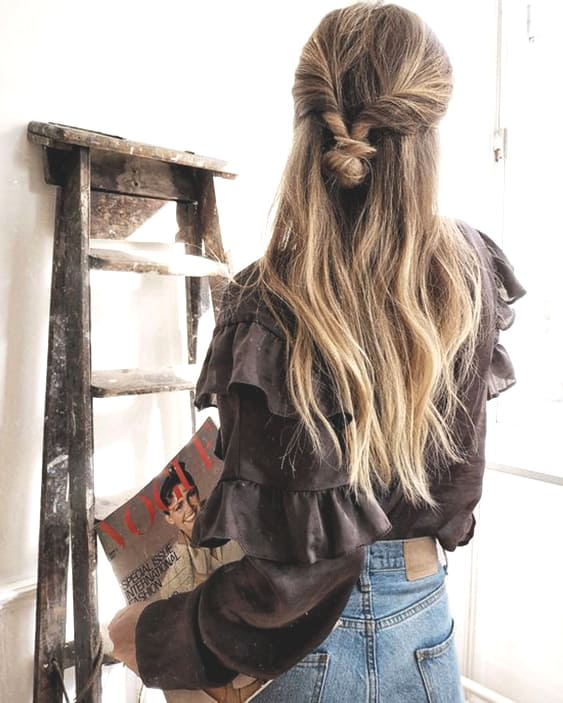half-up-bun-hair-ideas