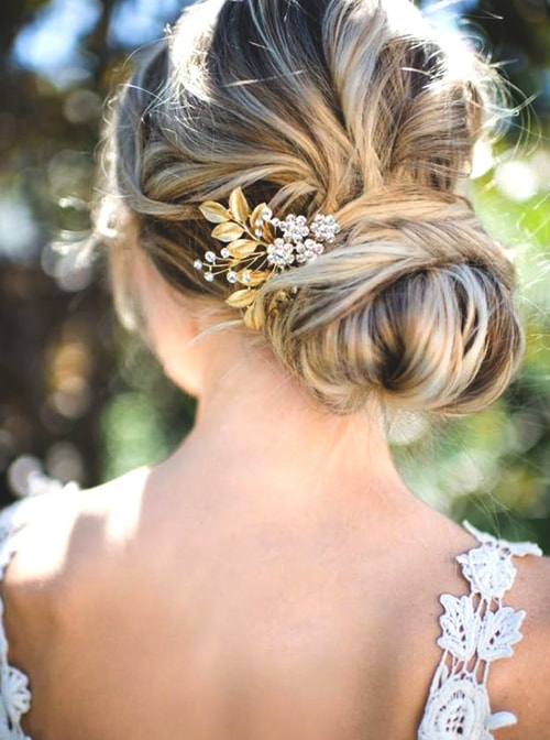 low-buns-wedding-hair-ideas