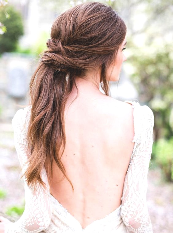 ponytail-summer-wedding-hairstyles