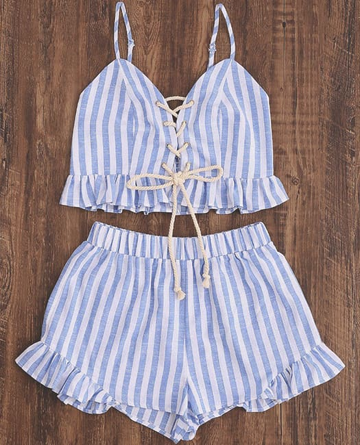 ruffle-two-piece-shorts