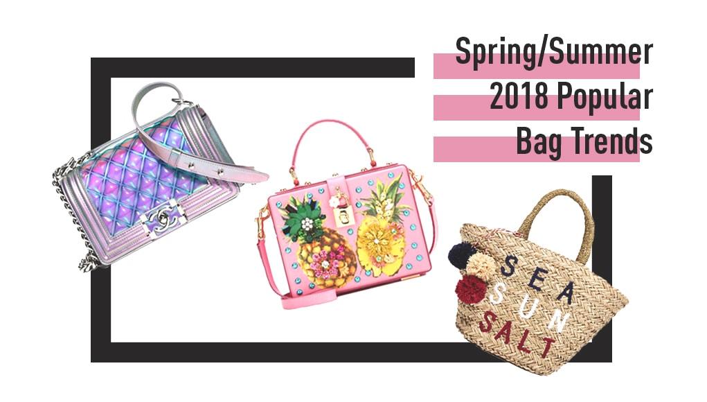 af6d2e8077 Spring Summer 2018 Popular Bag Trends