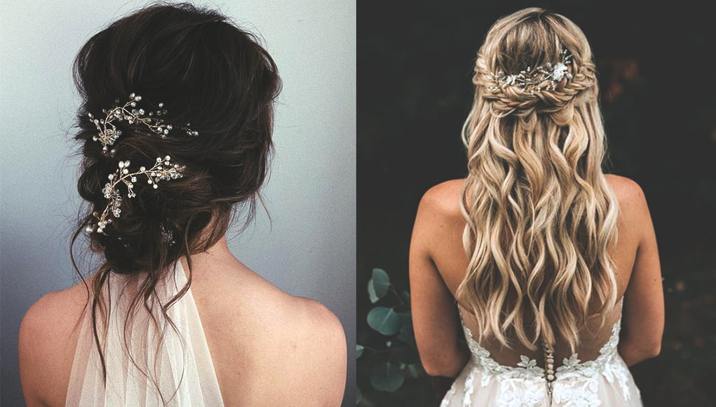 Wedding Hair Styles.10 Trendy Wedding Hairstyles Ecemella