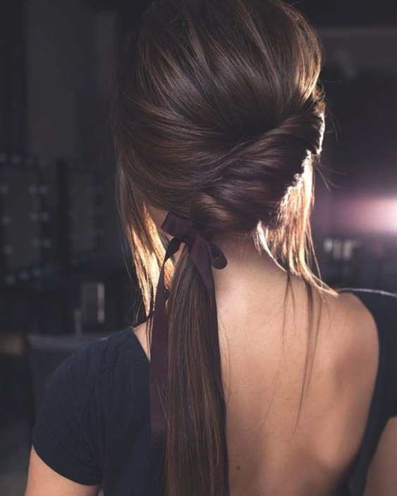 twisted-side-ponytail