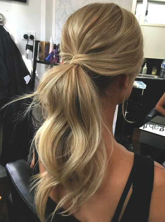 wedding-ponytail