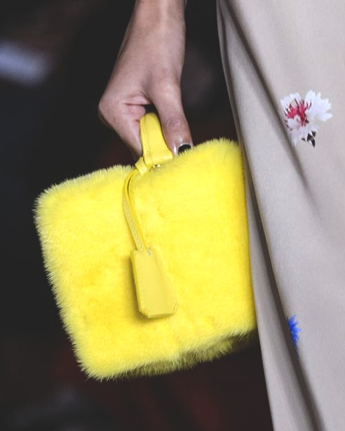 yellow-furry-bag