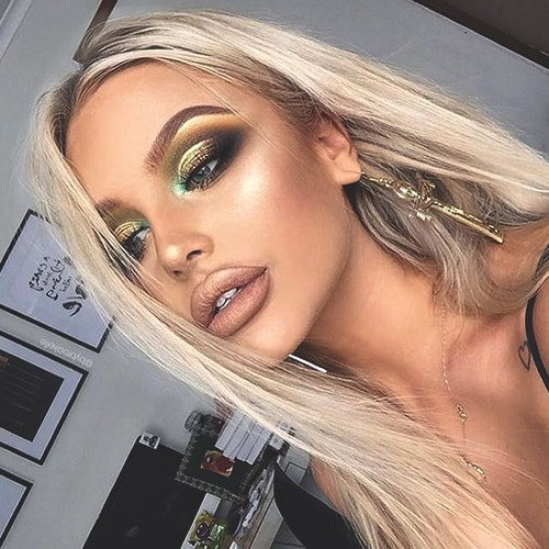 gold-prom-makeup-ideas