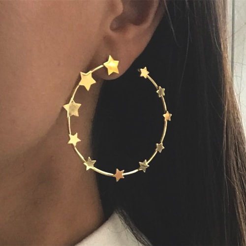 star-embellished-hoop