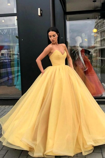 yellow-ball-gown-prom-dress