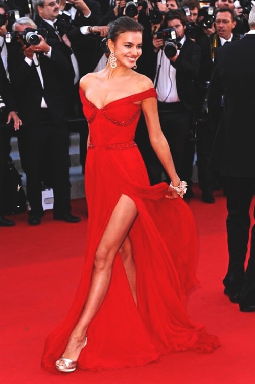 irina-shayk-red-long-dress-min