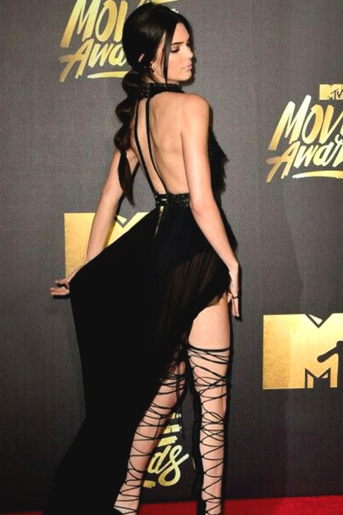 kendall-jenner-black-sheer-gown