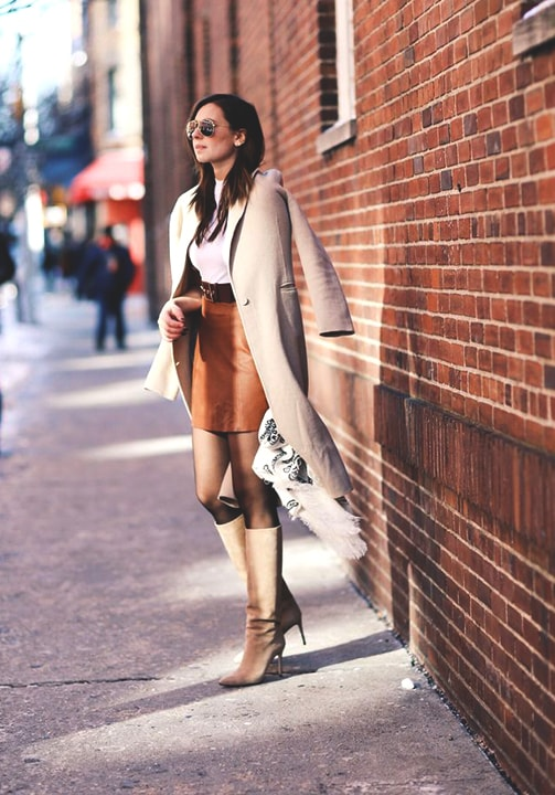 brown-suede-skirt-beige-coat-fall-fashion-trend-min