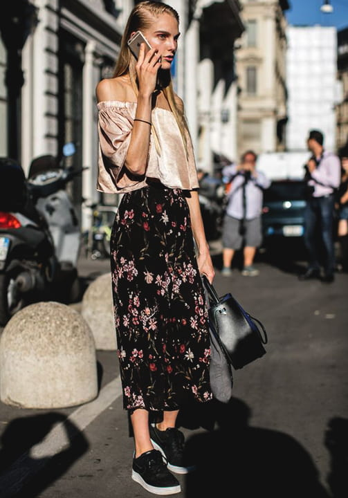 floral-printed-long-skirt-fall-2018