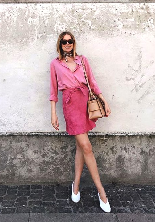 pink-outfits-for-fall-2018
