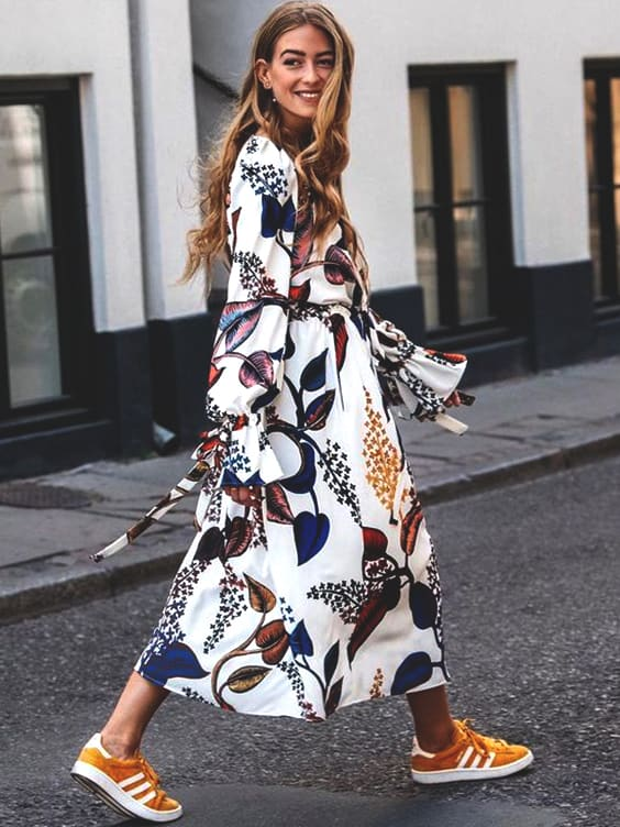 floral-dress-for-fall-street-style-fashion-trends-ideas