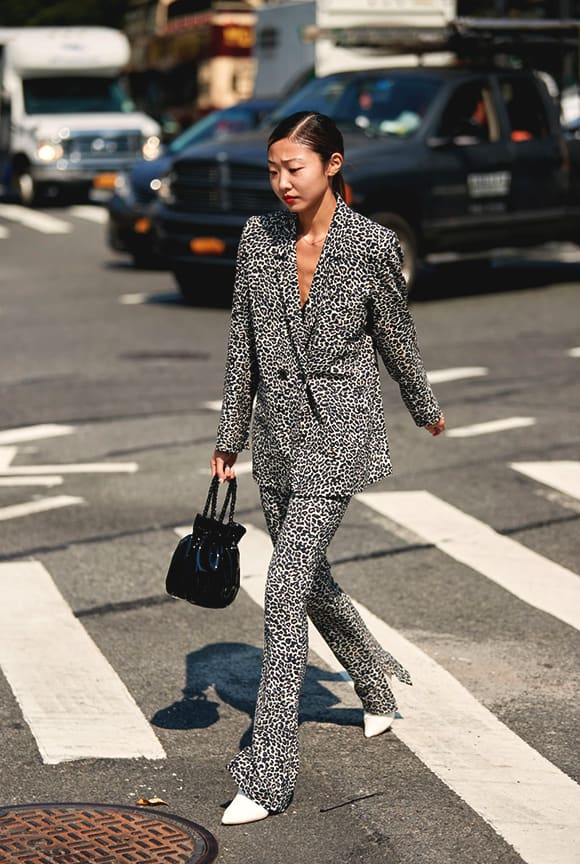 leopard-printed-suit-outfit-nyfw-spring-2019-trends-min