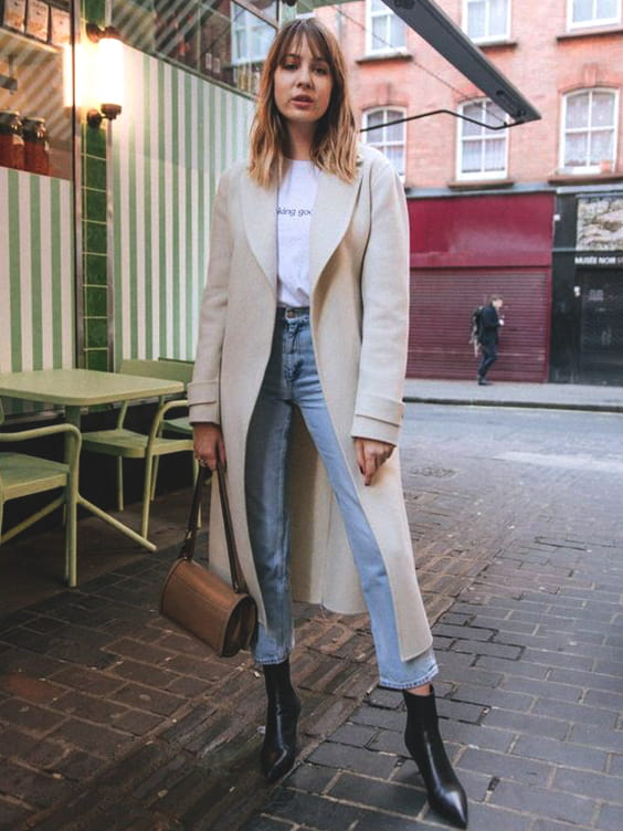nude-trench-coat-white-tee-denim-fall-fashion-ideas-school-outfit-ideas