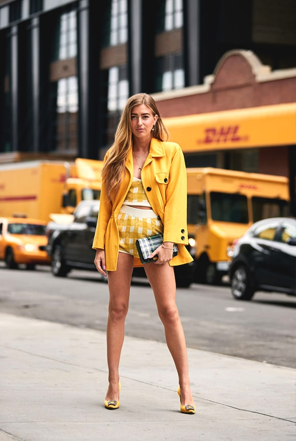 yellow-monochrome-outfit-look-street-style-new-york-fashion-week-spring-2019-trends-min