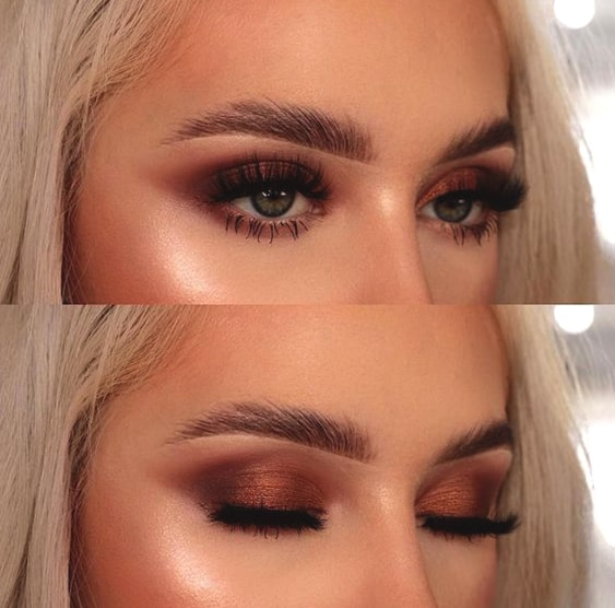 copper-smokey-eye-makeup-green-eyes-min