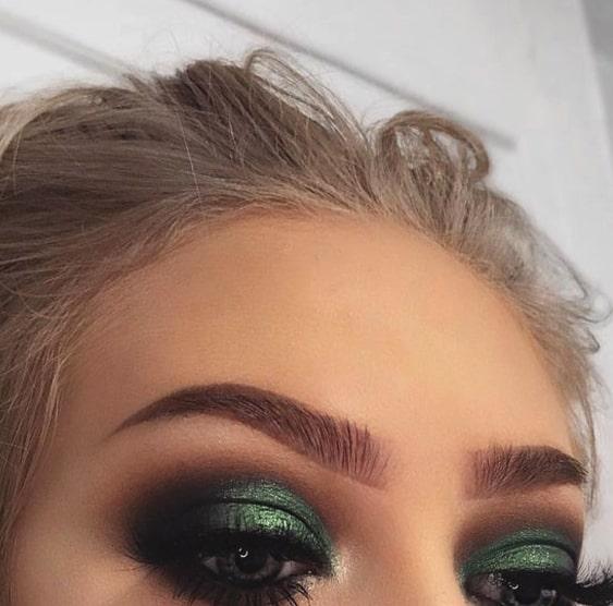 Green Smokey Eye Makeup For Green Eyes Min Ecemella