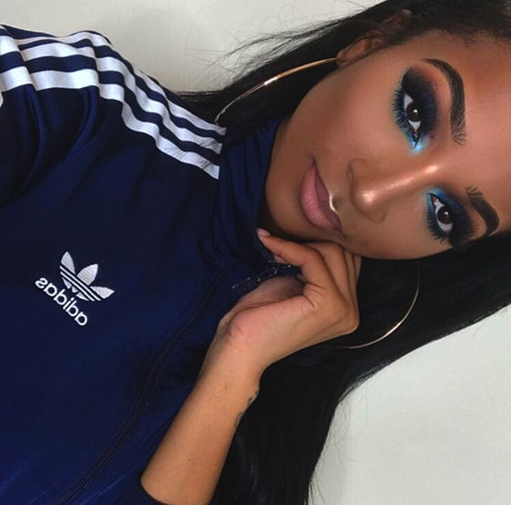 sapphire-blue-smokey-eye-makeup-looks