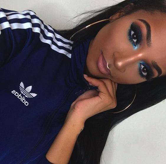 sapphire-blue-smokey-eye-makeup-looks