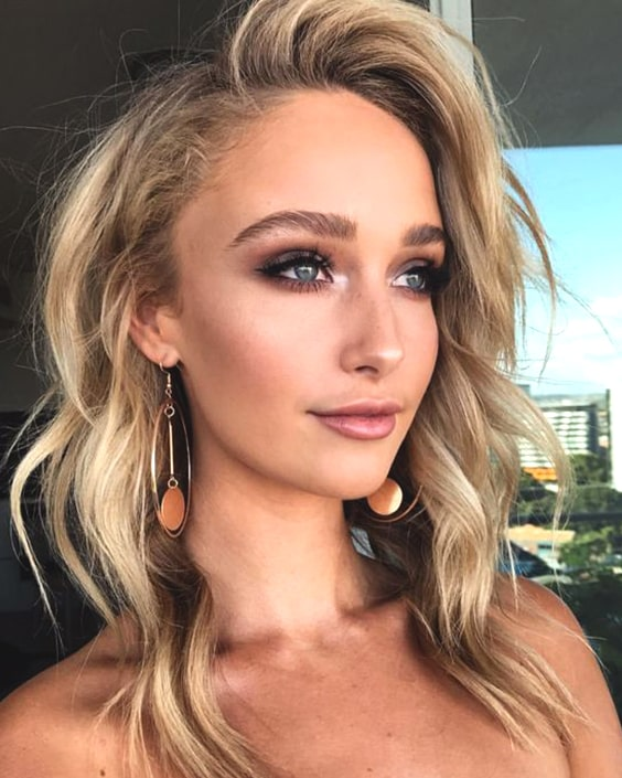 smokey-eye-shadow-blonde-makeup-ideas