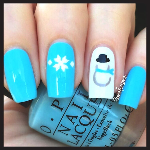 christmas-nail-art-blue-white-snowman-nails-min