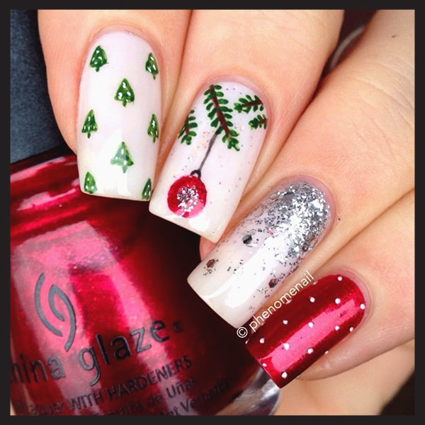 christmas-nail-art-design-ideas-christmas-tree-and-glitter-nails-min