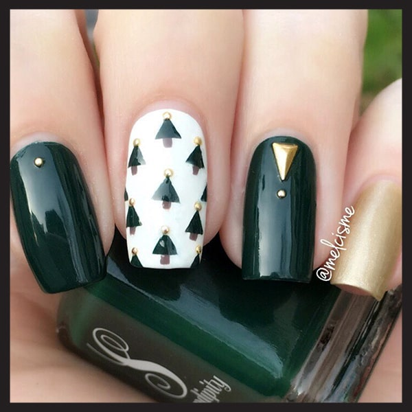 christmas-nail-art-design-ideas-green-christmas-trees-nails-min