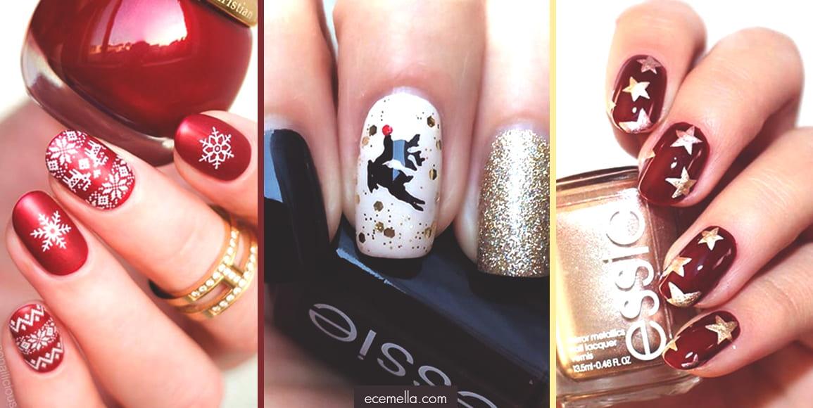 40 amazing christmas nail art design ideas ecemella 40 amazing christmas nail art design