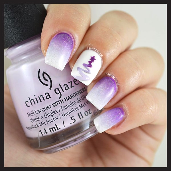 christmas-nail-art-design-purple-and-white-glittery-nails-min