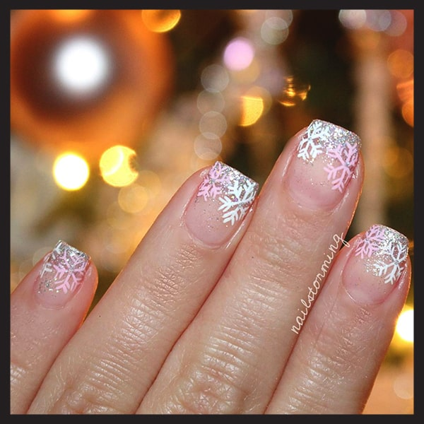 christmas-nail-art-design-transparent-glittery-snowflakes-idea-min