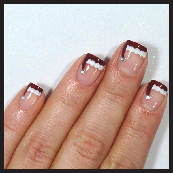 christmas-nail-art-ideas-santa-hat-french-tips-nails-min
