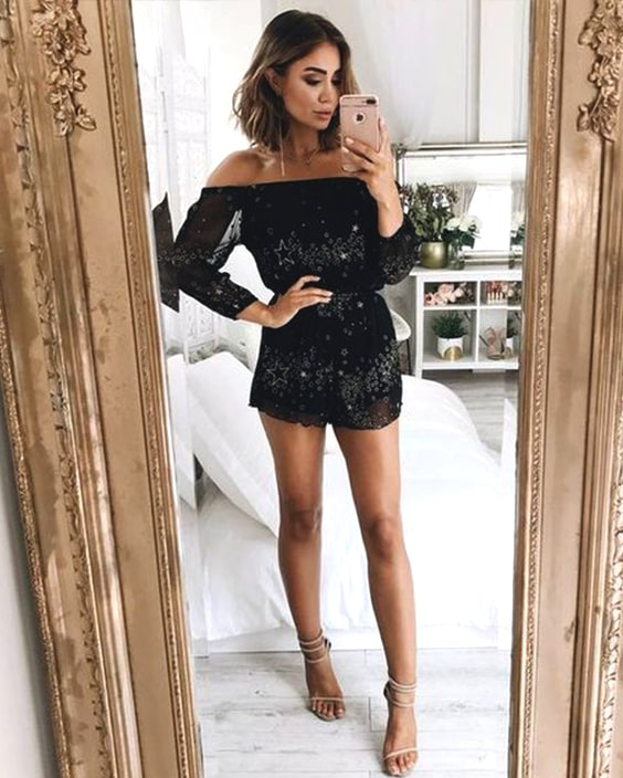 black-sequin-embellished-playsuit-outfit-ideas-new-year-party-outfits-min