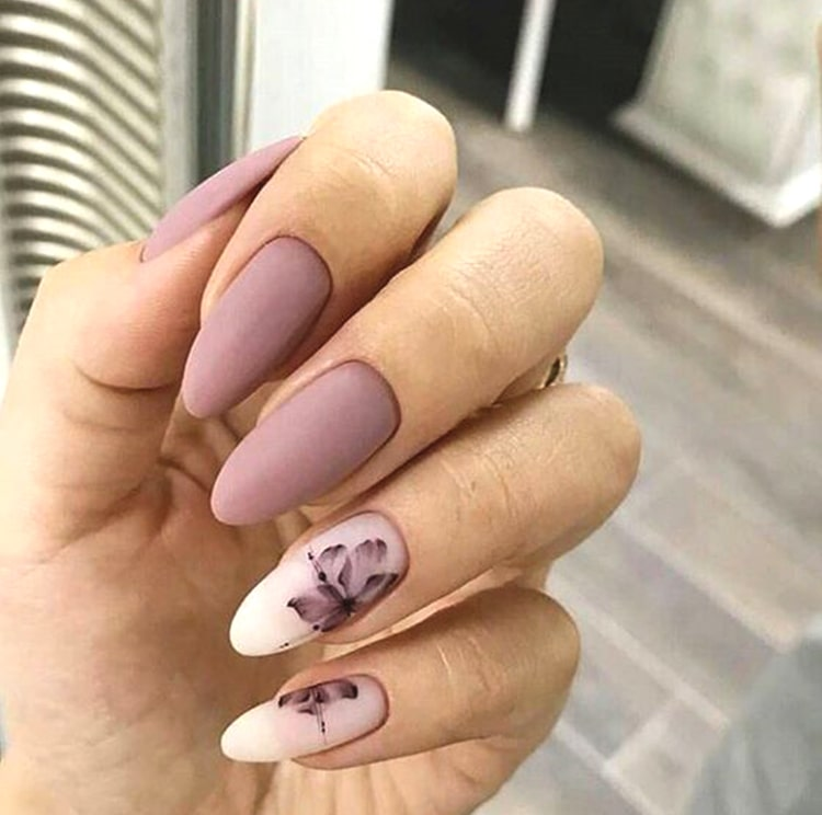 matte-rose-nail-art-design-matte-manicure-min