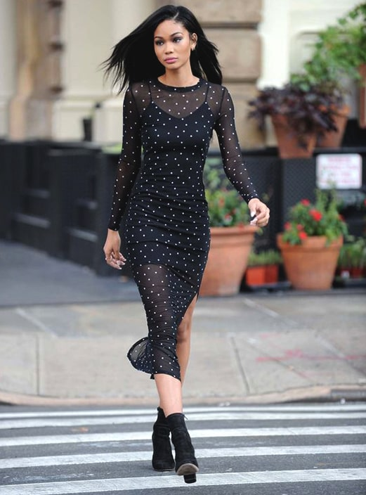new-year-outfit-ideas-mesh-midi-dress-min