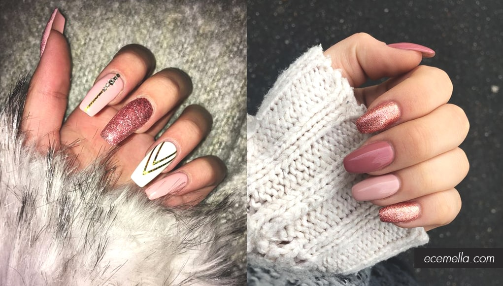10 Elegant Rose Gold Nail Designs That You Should Try Ecemella