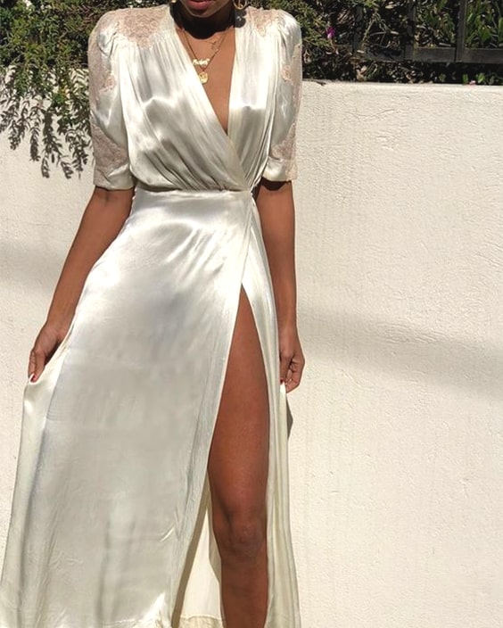 white-silky-robe-dress-new-years-eve-outfit-ideas-min