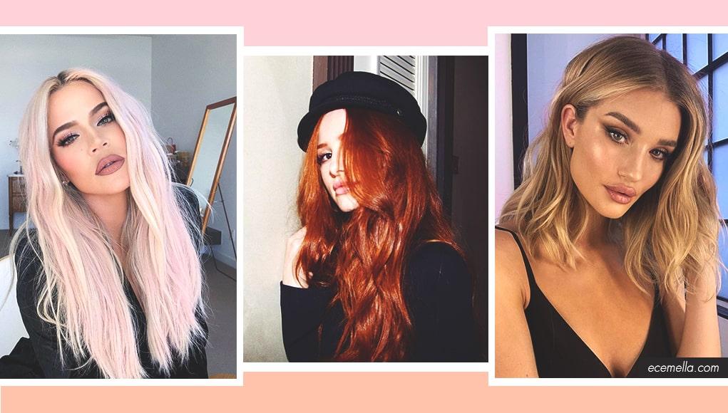 2019 Coolest Hair Color Trends | Ecemella